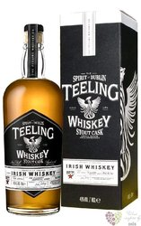 "Teeling collaboration "" Galway Bay Imperial Stout cask "" Irish whiskey 46% vol.0.70 l"