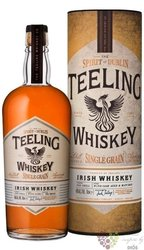 Teeling single grain gift box wine cask finish small batch Irish whiskey 46% vol.  0.70 l