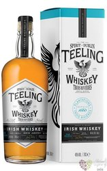 "Teeling collaboration "" Trois Rivieres rhum cask "" Irish whiskey 46% vol.  0.70l"