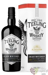 "Teeling collaboration "" Rum Plantation cask "" small batch Irish whiskey 46% vol.  0.70 l"