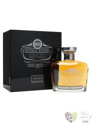 "Teeling 1983 "" Platinum reserve "" aged 30 years Irish single malt whiskey 46% vol.  0.70 l"