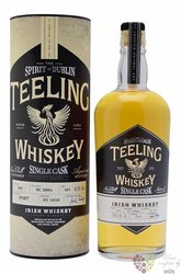 "Teeling Single cask 2004 "" Porto cask "" Irish single malt whiskey 53.5% vol.  0.70 l"