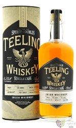 """Teeling Single cask 2004 """" Merlot cask """" Irish single malt whiskey 53.5% vol.  0.70 l"""