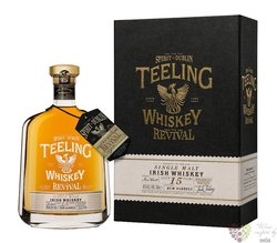 "Teeling "" Revival rum barrel "" aged 15 years Irish single malt whiskey 46% vol.0.70 l"