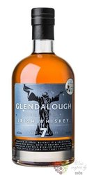 Glendalough aged 7 years single malt Irish whiskey 46% vol.    0.70 l