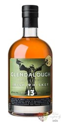 Glendalough aged 13 years single malt Irish whiskey 46% vol.    0.70 l