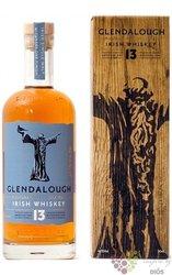 "Glendalough "" Dublin in the Rare Old Time "" aged 10 years single malt Irish whiskey 40% vol.  0.70 l"