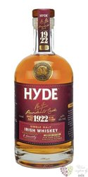 "Hyde "" no.4 Presidents rum cask "" single malt Irish whiskey 46% vol.  0.70 l"