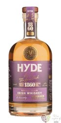 "Hyde "" no.5 Áras cask Burgundy cask finish "" aged 6 years single grain Irish whiskey 46% vol. 0.70 l"
