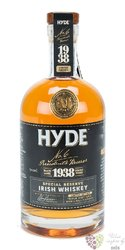 "Hyde "" no.6 Presidents reserve "" Irish whiskey 46% vol.  0.70 l"