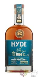 "Hyde "" no.6 Presidents reserve "" gift box Irish whiskey 46% vol.  0.70 l"