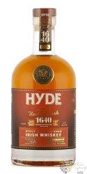 "Hyde "" no.8 Heritage cask 1640 "" Irish whiskey by Hibernia 43% vol.  0.70 l"