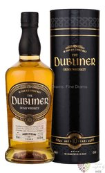 Dubliner aged 10 years single malt Irish whiskey 42% vol.  0.70 l
