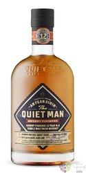 "Quiet man "" Oloroso Sherry cask "" aged 12 years single malt Irish whiskey 46% vol.  0.70 l"