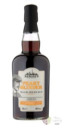 "Peaky Blinder "" Black Spiced "" blended flavored rum by Sadler´s 40% vol.  0.70 l"