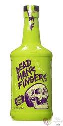 "Dead mans finger "" Lime "" flavored caribbean rum 37.5% vol.  0.70 l"