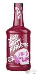 "Dead mans finger "" Raspberry "" flavored caribbean rum 37.5% vol.  0.70 l"