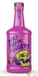 """Dead mans finger """" Passion fruit """" flavored caribbean rum 37.5% vol.  0.70 l"""