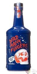 "Dead mans finger "" Hazelnut "" flavored caribbean rum 37.5% vol.  0.70 l"