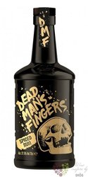"Dead mans finger "" Spiced "" flavored Caribbean rum 37.5% vol.  0.70 l"