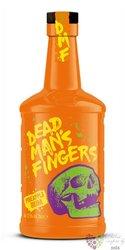 "Dead mans finger "" Pinneapple "" flavored caribbean rum 37.5% vol.  0.70 l"