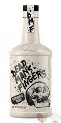 "Dead mans finger "" Coconut "" flavored caribbean rum 37.5% vol.  0.70 l"