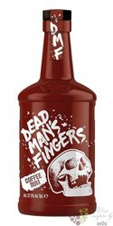 "Dead mans finger "" Coffee "" flavoured caribbean rum 37.5% vol.  0.70 l"