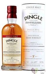 "Dingle "" Small Batch.5 "" single malt Irish whisky 46.5% vol.  0.70 l"