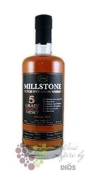 "Millstone "" 5 grains no.3 "" Dutch grain whisky Zuidam 46% vol.   0.70 l"
