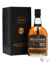 Millstone aged 5 years Dutch single malt whisky Zuidam 40% vol.    0.70 l