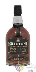 "Millstone 1999 "" PX cask "" aged 14 years Dutch single malt whisky Zuidam 46% vol.   0.70 l"