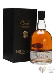 "Millstone "" French oak "" aged 10 years Dutch single malt whisky Zuidam 40% vol.0.70 l"