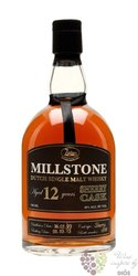"Millstone "" Sherry cask "" aged 12 years Dutch single malt whisky Zuidam 46% vol.    0.70 l"