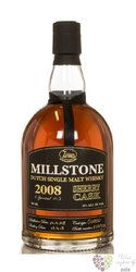 "Millstone 2008 "" Sherry Oloroso no.5 "" Dutch single malt whisky Zuidam 46% vol.0.70 l"