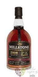 "Millstone 2008 "" PX cask no.6 "" Dutch single malt whisky Zuidam 54.2% vol.   0.70 l"