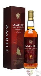 "Amrut "" Intermediate Sherry matured "" single malt Indian whisky 57% vol.    0.70 l"