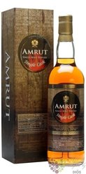 "Amrut "" Bourbon Single cask "" single malt Indian whisky 60% vol.  0.70 l"