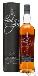 "Paul John "" Bold "" peated single malt Indian whisky 46% vol.  0.70 l"