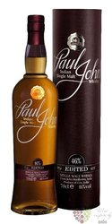 "Paul John "" Edited "" single malt Indian whisky 46% vol.  0.70 l"