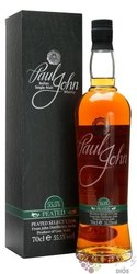 "Paul John "" Peated Select cask cask strength "" single malt Indian whisky 55.5% vol.  0.70 l"
