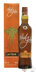"Paul John "" Nirvana "" unpeated single malt Indian whisky 40% vol.  0.70 l"