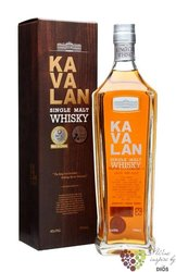 "Kavalan "" Sherry cask finish "" single malt Taiwanese whisky 40% vol.    0.70 l"