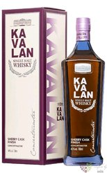 "Kavalan "" Conductor "" single malt Taiwanese whisky 57.7% vol.   0.70 l"
