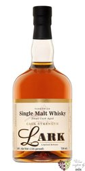"Lark´s "" Cask Strength "" Tasmanian single malt whisky 58% vol.    0.70 l"