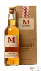 Milford 10 years old New Zealand single malt whisky 43% vol.   0.75 l