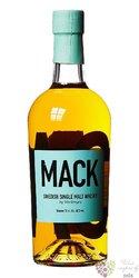 "Mackmyra "" Mack "" Swedish single malt whisky 40% vol.  0.70 l"