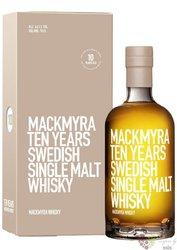 Mackmyra aged 10 years Swedish single malt whisky 46% vol.  0.70 l
