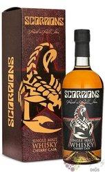 Scorpions Rock n Roll Star Cherry Cask  whisky by Mackmyra 40% vol  0.70 l