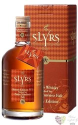 "Slyrs "" Sherry PX edition no.1 "" single malt Bavarian whisky 46% vol.     0.35 l"
