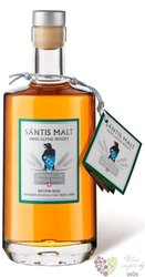 "Santis malts "" ed. Sigel "" Swiss alpine whisky Brauerei Locher 40% vol.  0.70 l"